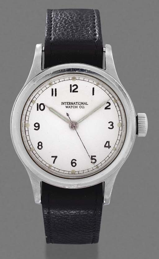 IWC. A stainless steel waterpr
