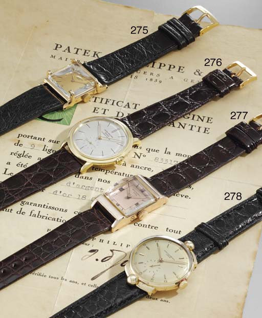 Patek Philippe. An unusual and