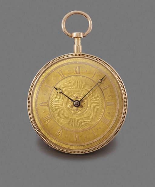 Bordier. An early 18K gold ope