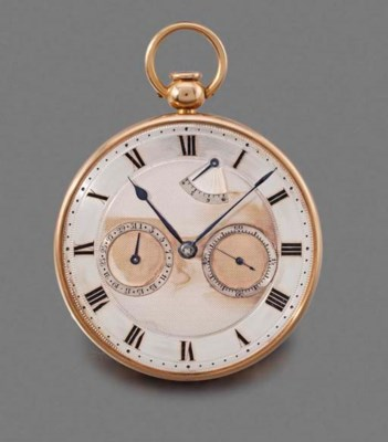 French. An 18K pink gold openf