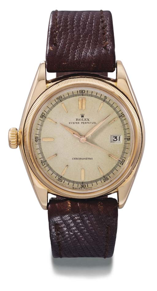 Rolex. An unusual and rare 18K