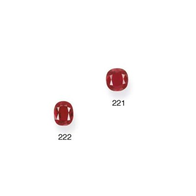 AN UNMOUNTED RUBY