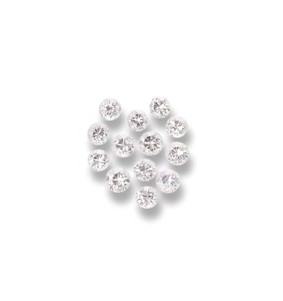 A GROUP OF UNMOUNTED DIAMONDS