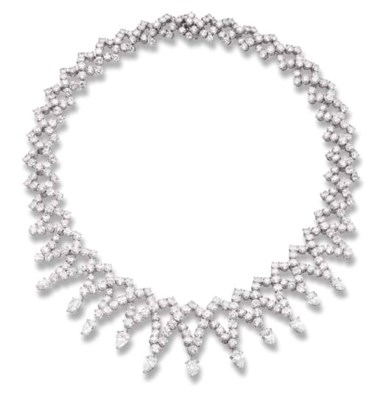 A DIAMOND NECKLACE, BY M. GERA