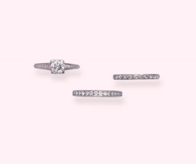 THREE DIAMOND RINGS