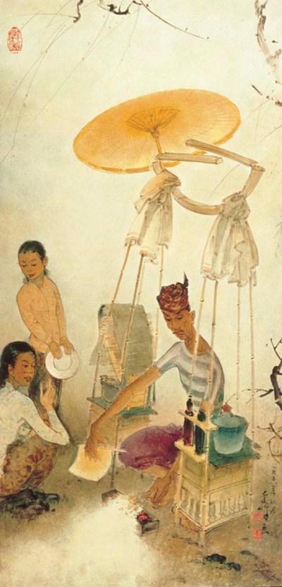 LEE MAN FONG (China 1913-Singa