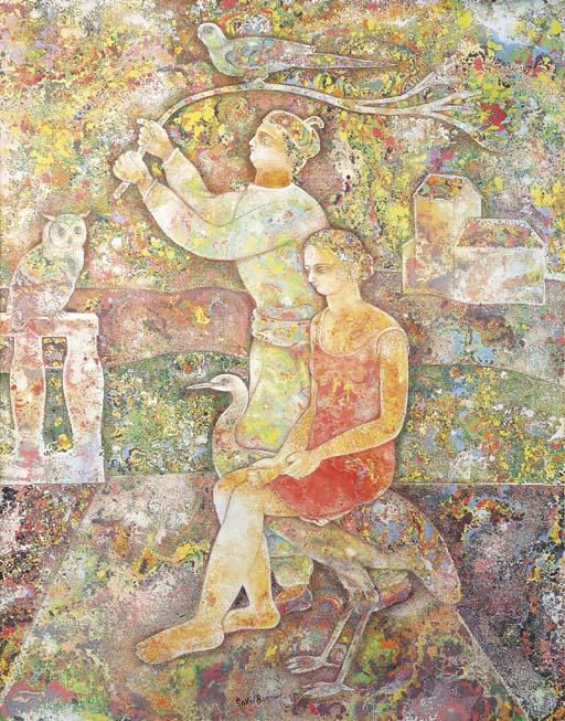 SAKTI BURMAN (b. India 1935)