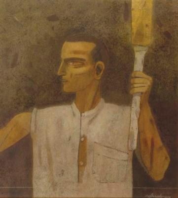 GANESH PYNE (b. India 1937)