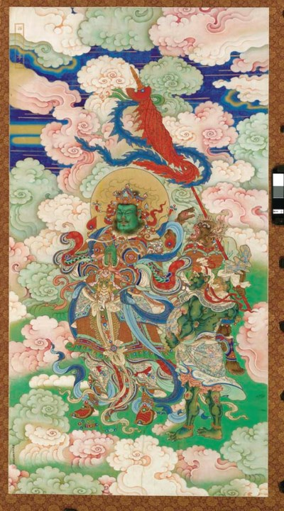 A LARGE IMPERIAL BUDDHIST VOTI