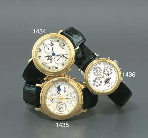 URBAN JURGENSEN. AN 18K GOLD P
