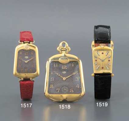 MIDO. AN 18K GOLD WRISTWATCH I