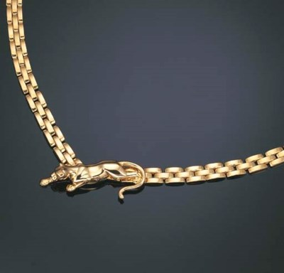 AN 18K GOLD NECKLACE, BY CARTI