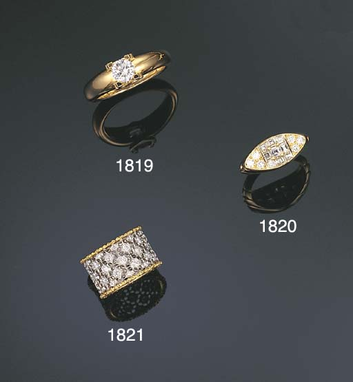 A DIAMOND RING, BY GIANMARIA B