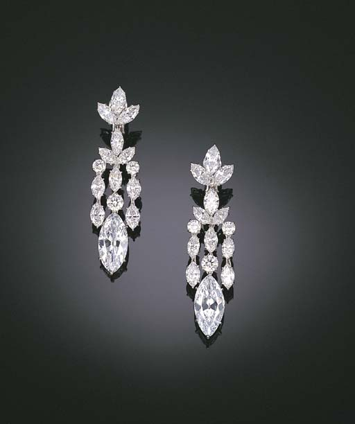 A MAGNIFICENT PAIR OF DIAMOND