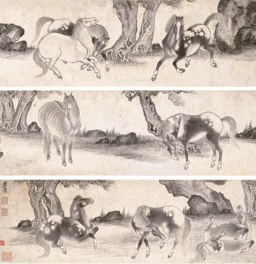 ZHANG MU (1607 - CIRCA 1687)