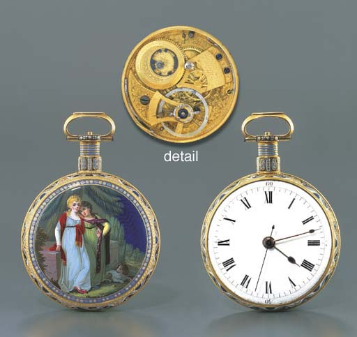 ILBERY. A FINE GOLD AND ENAMEL