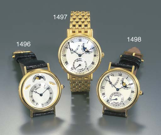 BREGUET. AN 18K GOLD SELF-WIND