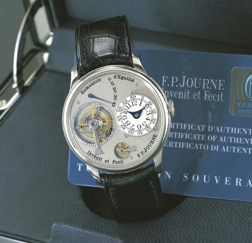 F.P. JOURNE. A RARE AND UNUSUA