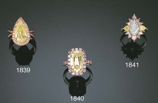 A DIAMOND AND PINK DIAMOND RIN