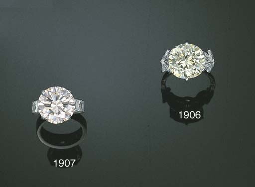 A DIAMOND RING, BY STERLE