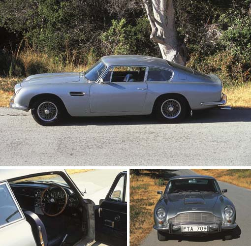 1969 ASTON MARTIN DB6 SALOON