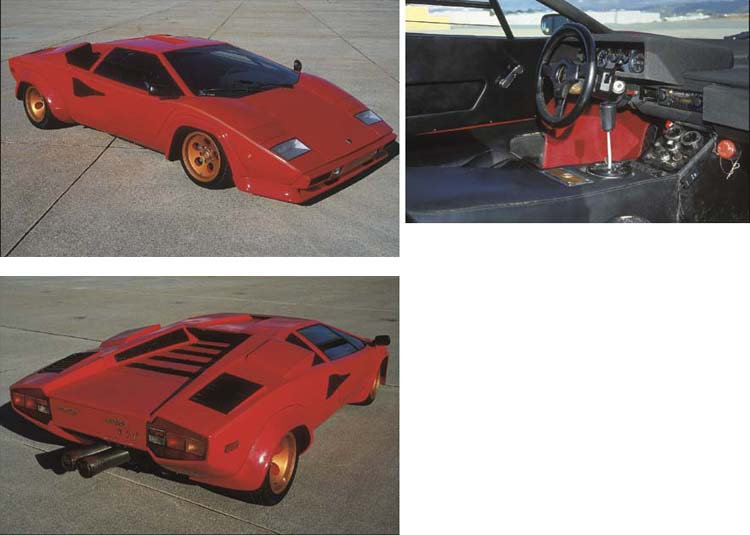 1974 LAMBORGHINI LP400 COUNTAC