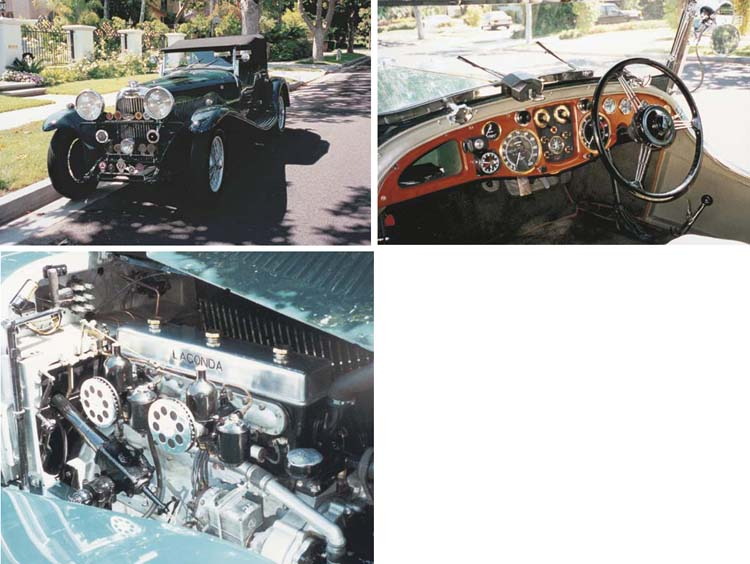 1934 LAGONDA M45 T7 TOURER