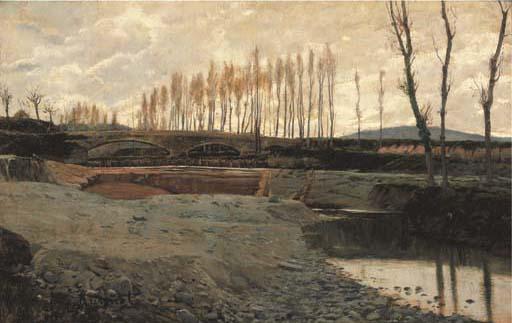 Santiago Rusiñol Prats (Barcelona, 1861 - Aranjuez, 1931)