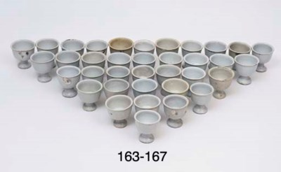 TWENTY FOUR SIMILAR STEM CUPS