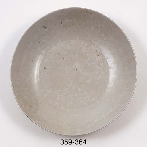 TWO SIMILAR BOWLS	 (2)
