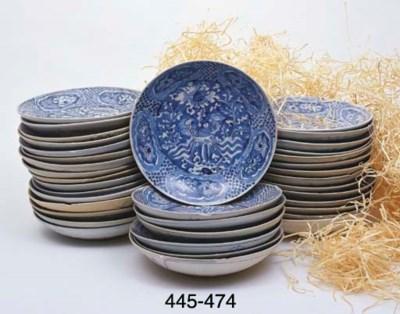 FIFTY SIMILAR PLATES (50)