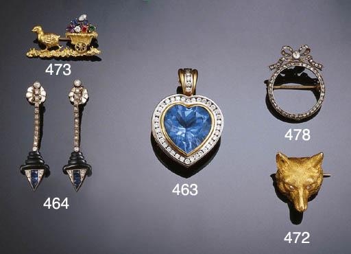 A RUSSIAN DIAMOND MINIATURE FR