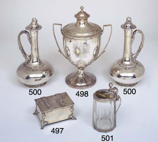 A VICTORIAN STERLING SILVER AN