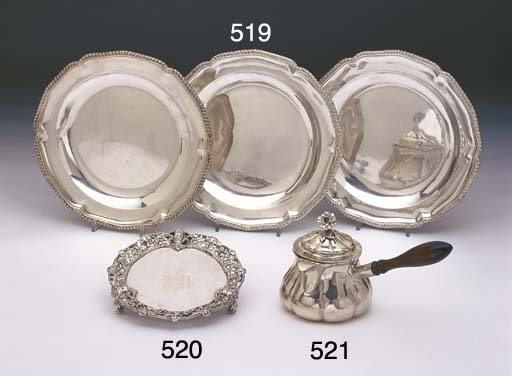 A VICTORIAN STERLING SILVER BR