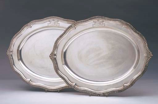 A PAIR OF WILLIAM IV STERLING