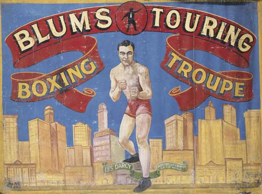 A BLUMS TOURING BOXING TROUPE