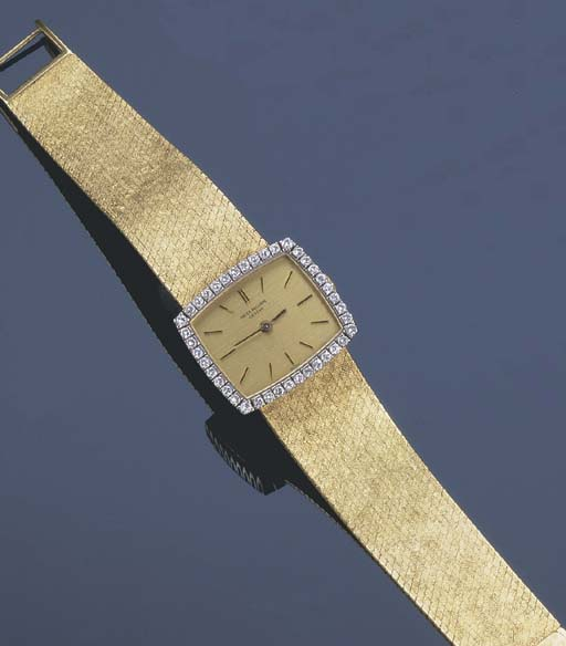 A LADY'S PATEK PHILLIPE GOLD A
