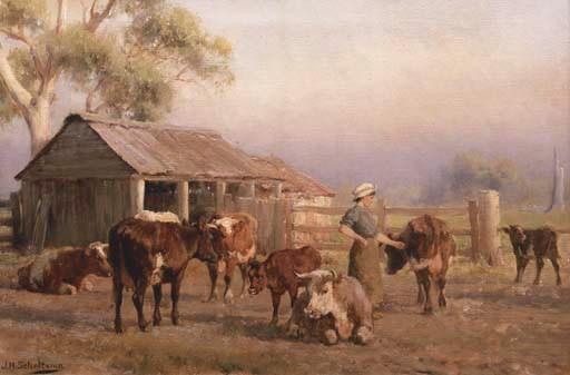 JAN HENDRIK SCHELTEMA (1861-19