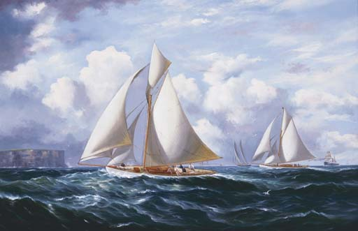 WALTER A BARRATT (working 1890
