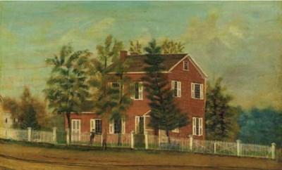 AMERICAN SCHOOL, LATE 19TH-EAR
