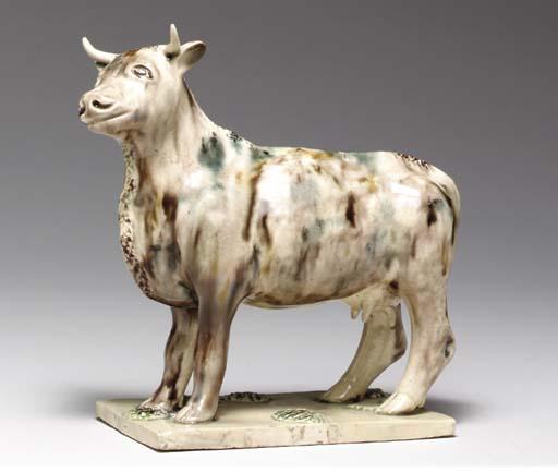 A CREAMWARE MODEL OF A COW