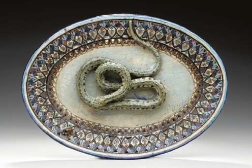 A FRENCH PALISSY STYLE RETICUL