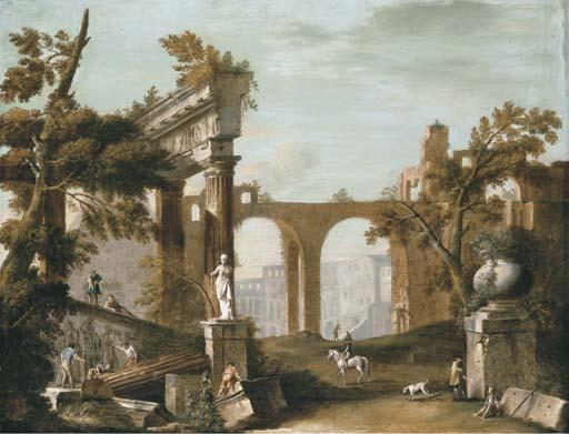 Circle of Marco Ricci (Belluno 1676-1730)