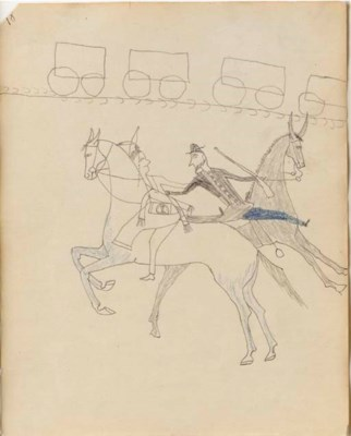 A SIOUX LEDGER DRAWING