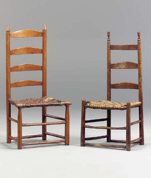 TWO SHAKER CHAIRS