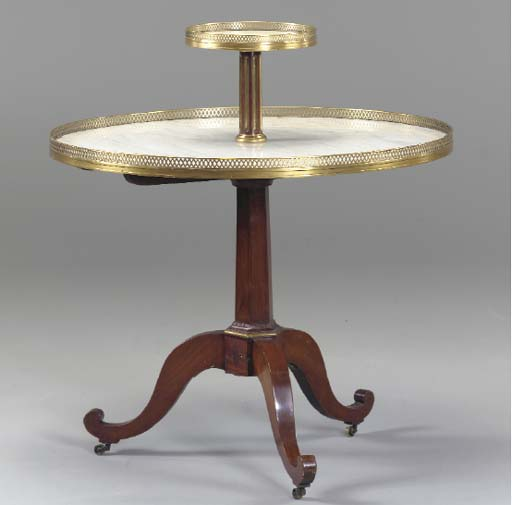 A DIRECTOIRE STYLE BRASS-MOUNT