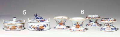 TWO PAIRS OF CHINESE IMARI PED