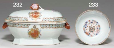 A CHASE SOUP TUREEN AND COVER