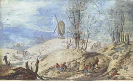 Circle of Jan Breughel the Eld
