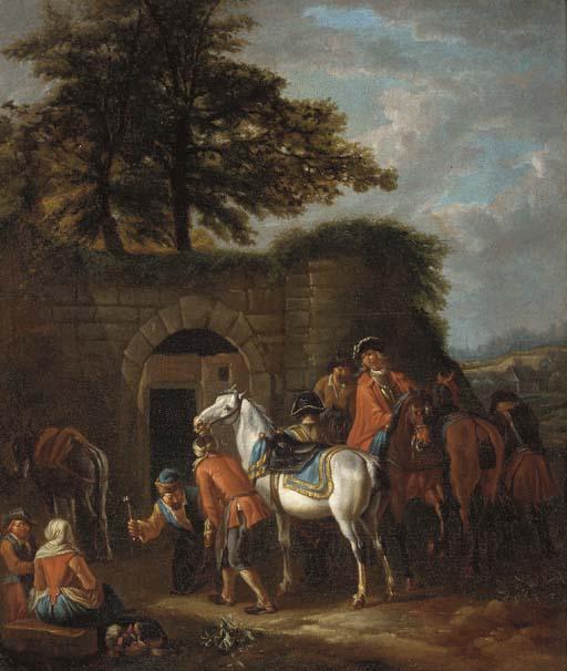 Manner of Pieter van Bloemen